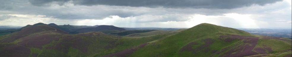 edinburgh Pentland_Hills_From_Caerketton_Hill_II